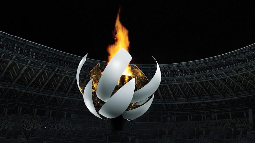 Nendo's sun-like cauldron lights up the opening ceremony of Tokyo Olympics 2020
