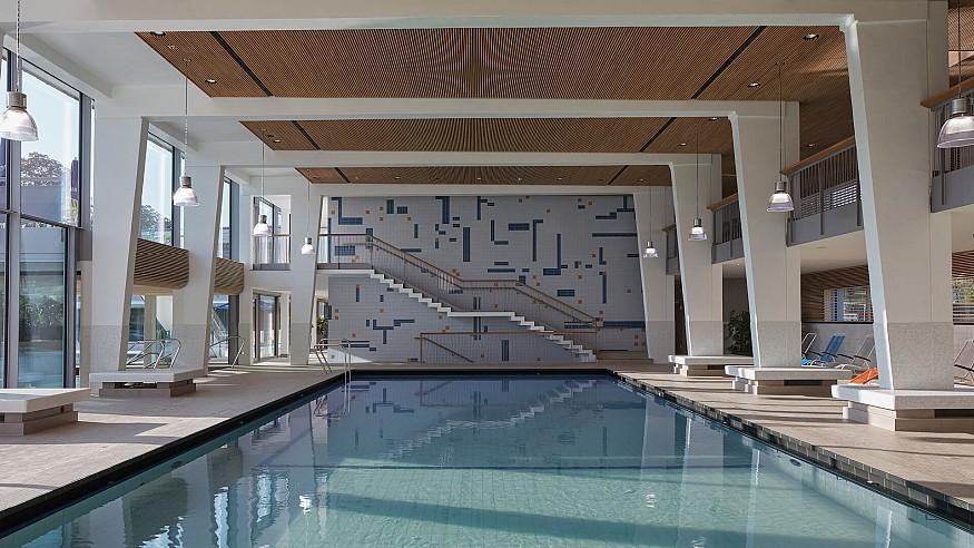 4a Architekten renovates Stuttgart's Mineral Bad Berg while retaining its old charm