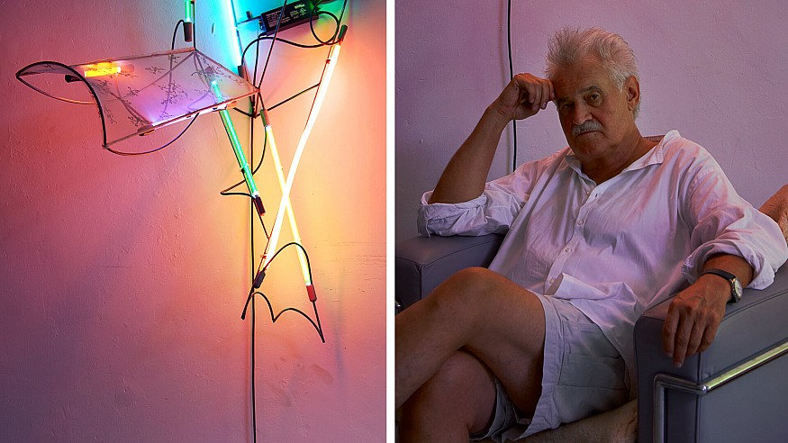 The neon glow of Keith Sonnier continues to shine after his death at 78