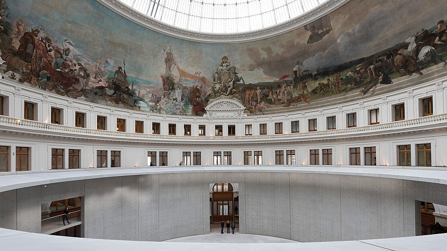 Tadao Ando fuses modern and historical at upcoming Bourse de Commerce, Paris
