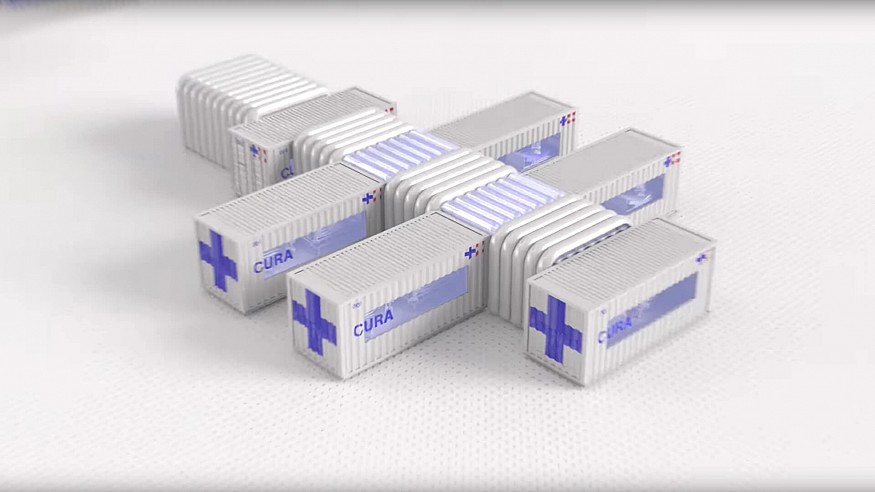 CURA pods to help hospitals expand ICU capacity to treat COVID-19 patients