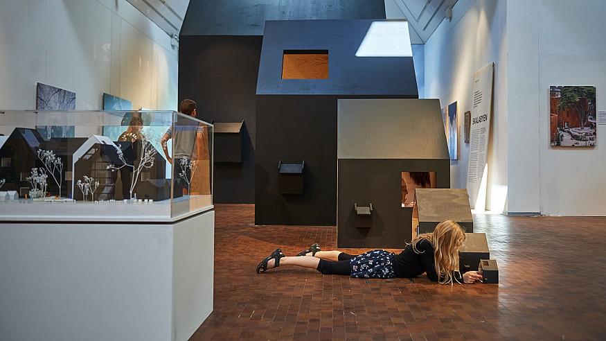'Space Crazy' creates an architectural playground at the Utzon Center, Denmark