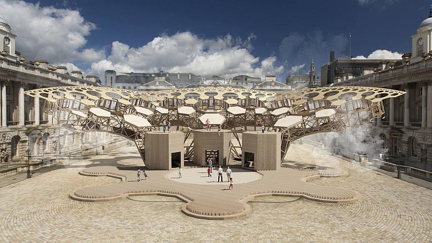 Arthur Mamou-Mani on paving a virtual path of 'Catharsis' for Burning Man 2020