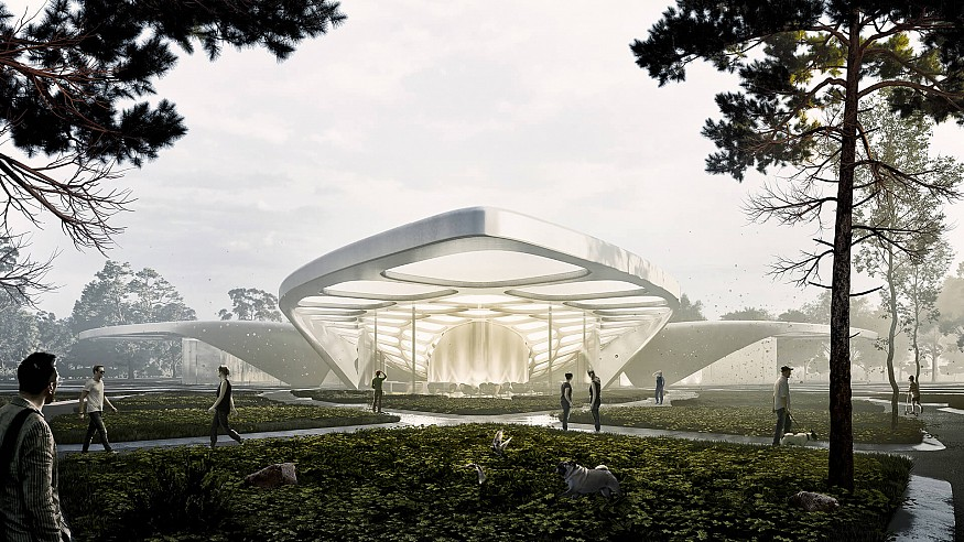 Studio Symbiosis to bring a perfume museum and park in Kannauj, India
