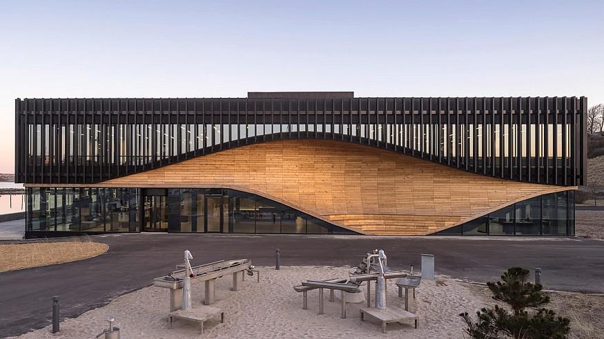 Lemvig Klimatorium by 3XN in Denmark is an effort to fight climate change