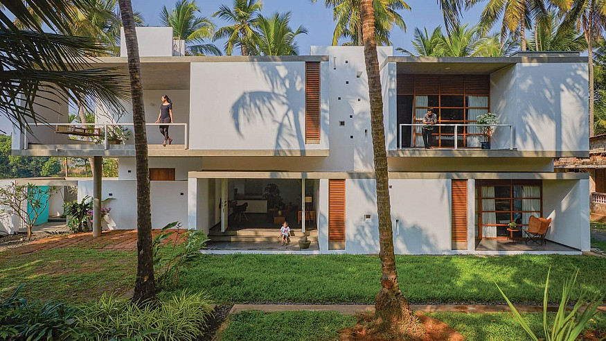 'A personification of our mothers': Aayi Residence by Collage Architecture Studio