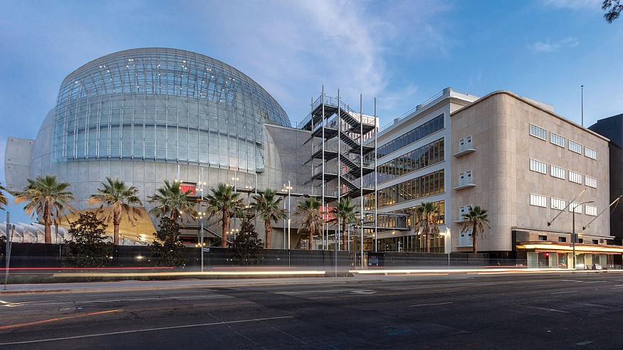 Renzo Piano completes construction of the Academy Museum of Motion Pictures in LA