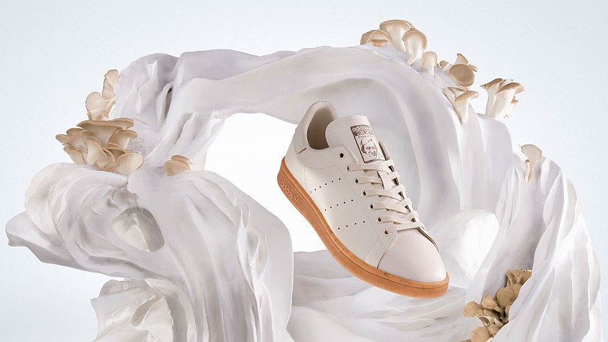 Stan Smith Mylo by Adidas reimagines a classic sneaker in renewable mycelium