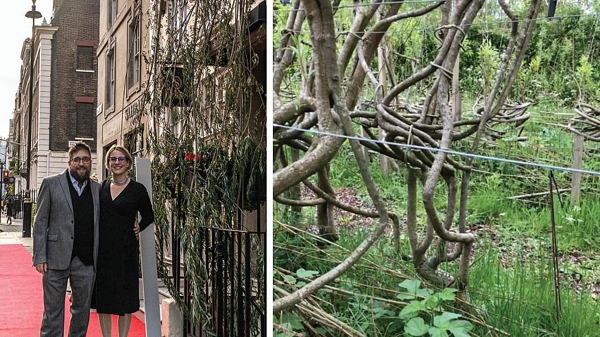 UK-based Full Grown takes STIR through a tour of their 'Chair Orchard'