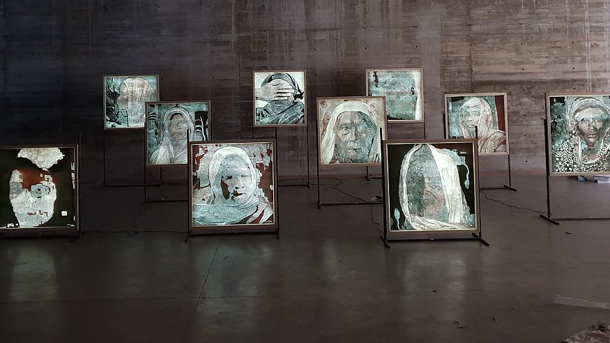 Dilara Begum Jolly's 'Parables of the Womb' in Dhaka celebrates the fearless women