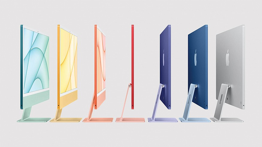 Apple's colourful new M1-enabled iMac is faster and sleeker than ever