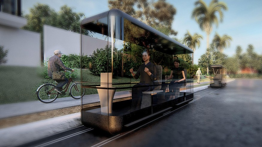 Architecture Discipline designs Capsule for Automated Travel for post COVID-19 world