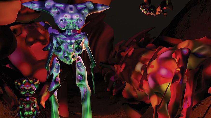 Exploring the vivid and alien world of Gabriel Massan