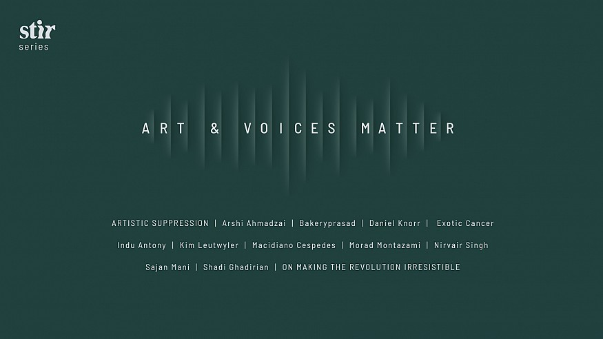 Art & Voices Matter: STIR original series on issues of communities at the margins