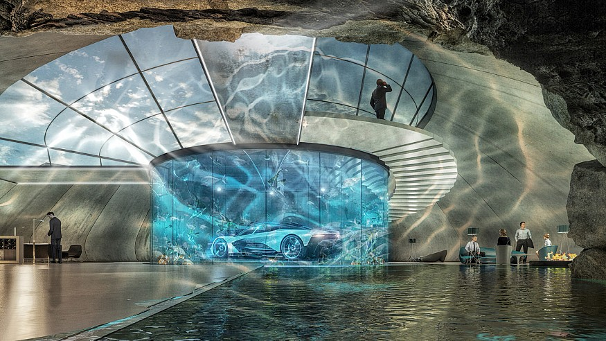 Aston Martin to design bespoke luxurious homes for opulent cars