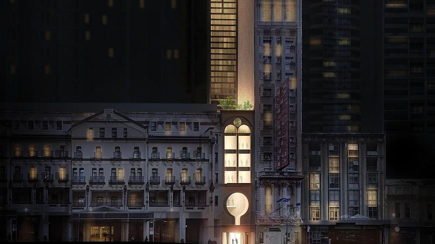 Durbach Block Jaggers visualise a 'column' tower to adorn Sydney's skyline