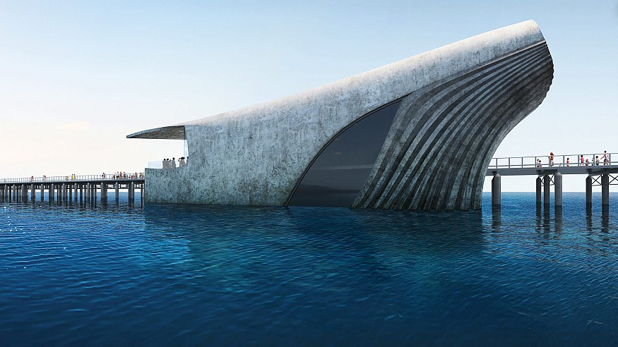 Baca Architects to build whale-shaped Australian Underwater Discovery Centre