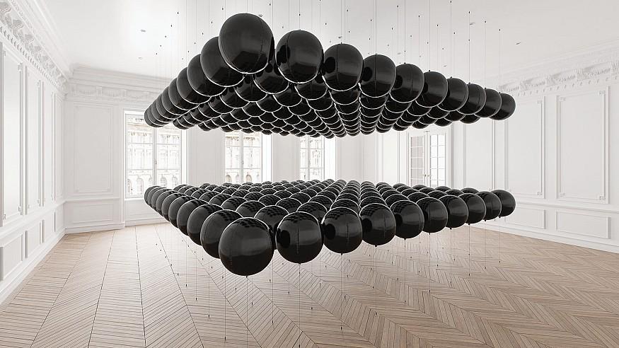 Tadao Cern's no-frill artworks ascertain balance in a polarised world
