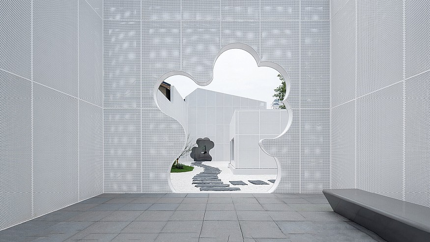 Wutopia Lab cites clouds, dreams, and labyrinths in Duoyun Bookstore in Huangyan
