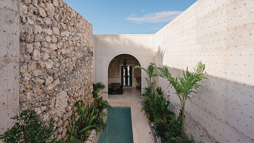 Casa Canela finds a humble fusion of the modern within its colonial Mexican roots
