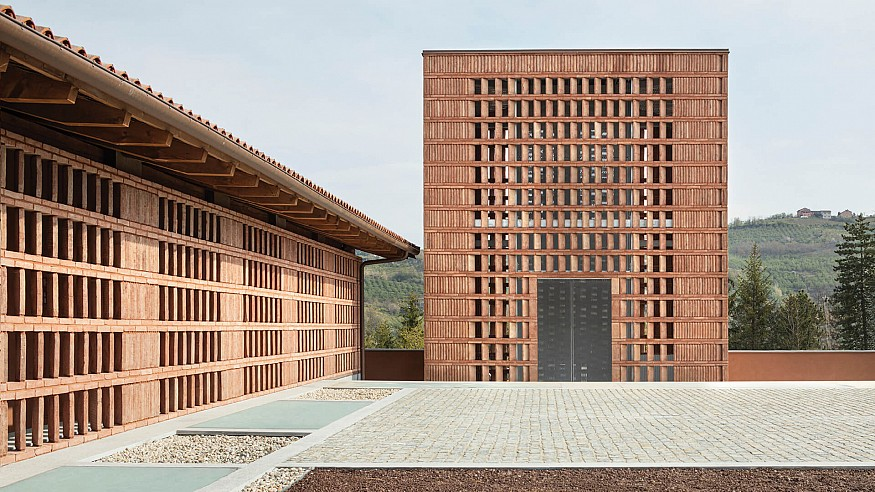 Casa di Langa reimagines age-old luxury in the lap of mountains and vineyards in Italy