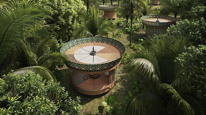 Beatrice Bonzanigo's Casa Ojalá is a tiny house that can be configured in 1,000 ways