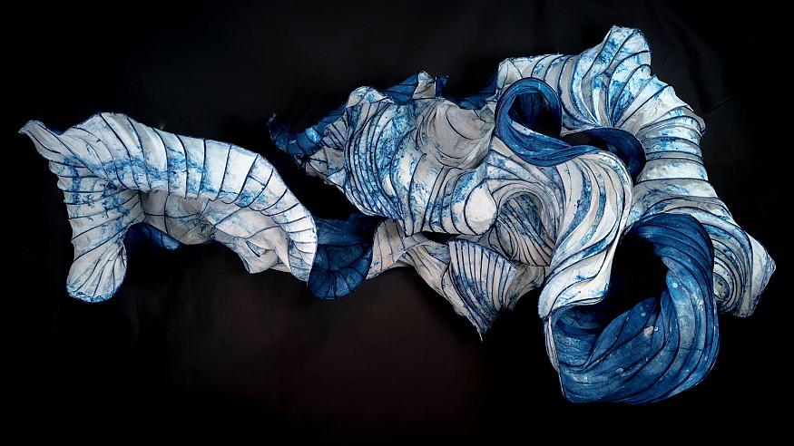 Dutch artists Peter Gentenaar and Iris van Herpen transcend industries to create art
