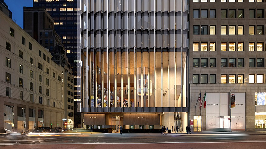 The new Rolex headquarters in New York to be built by David Chipperfield Architects