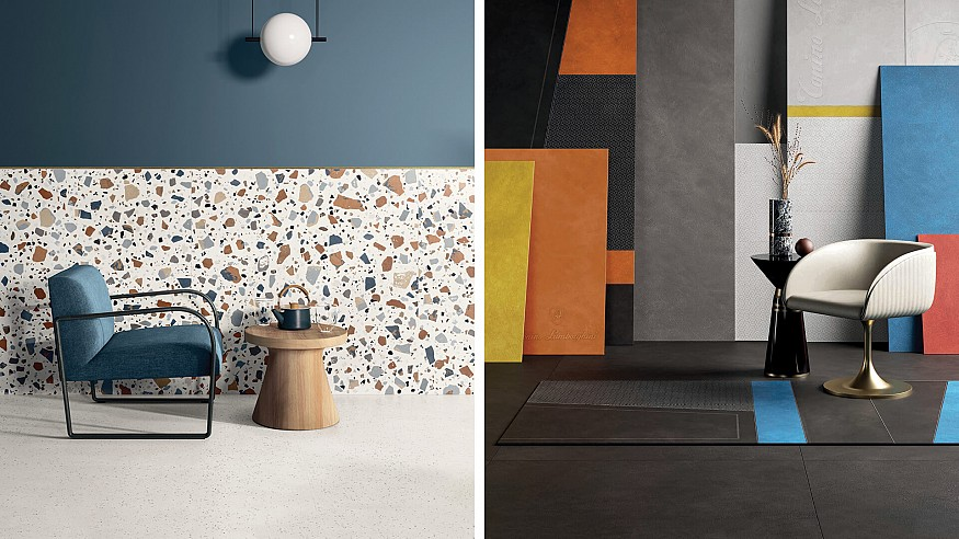 Tile trends in evidence at the ongoing 38<sup>th</sup> edition of Cersaie