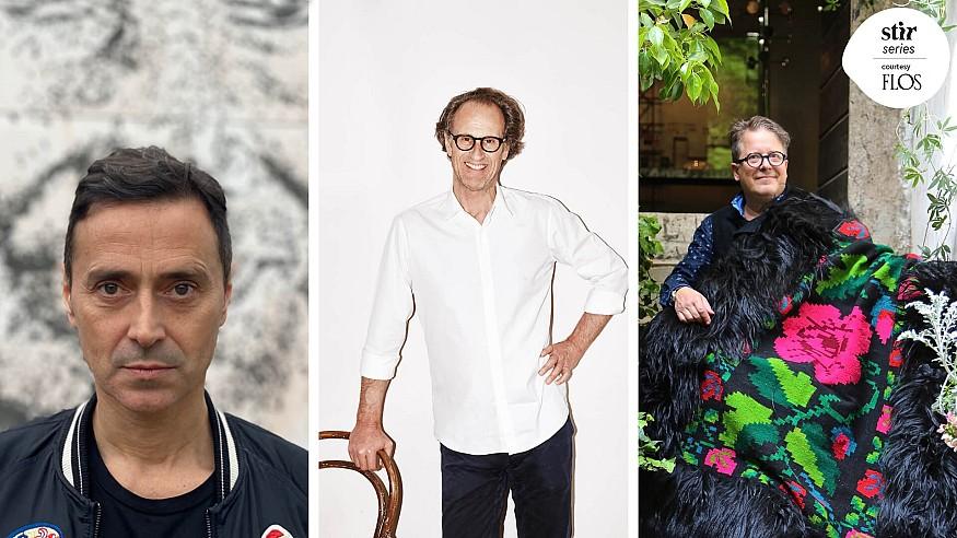 Miss You, Milan: Fabio Novembre, Matteo Thun and Stephan Hamel in reflection