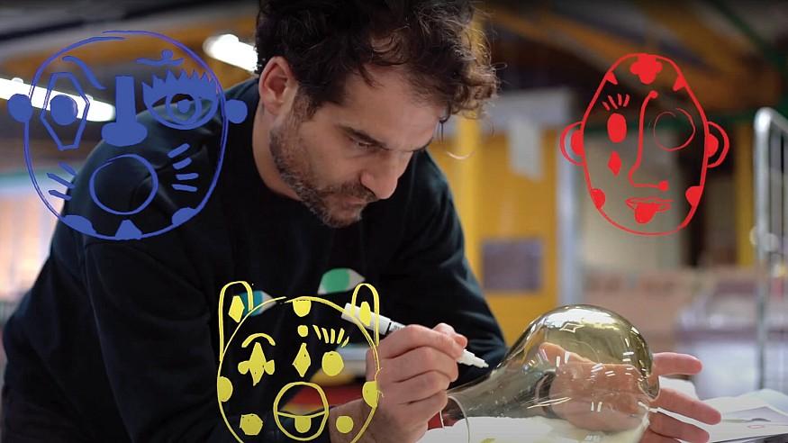 Jaime Hayon reinterprets animals in crystal with Faunacrystopolis for Baccarat