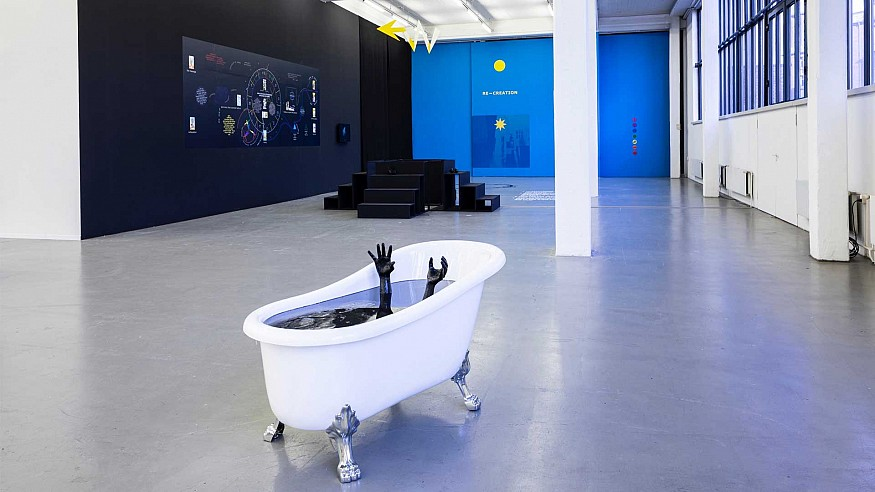An exhibition in Hamburg explores aspects of dehumanisation in contemporary Europe