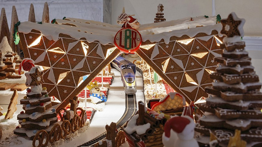 Museum of Architecture's Gingerbread City explores new ways of moving around