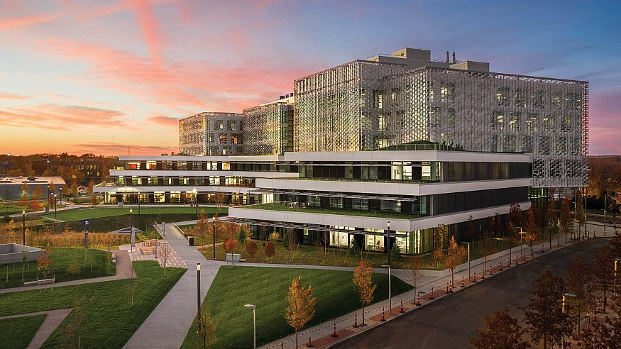 Harvard's new Science and Engineering complex is sheathed in hydroformed steel