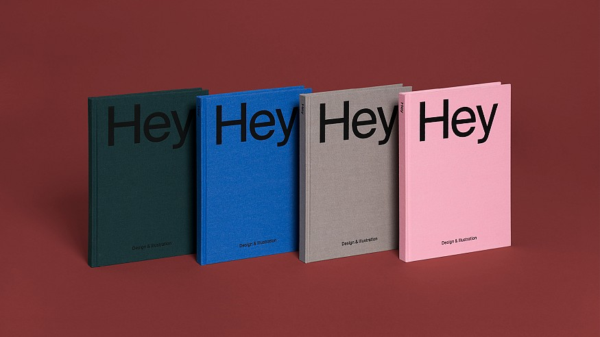 A book I wish I had done: Hey: Design & Illustration