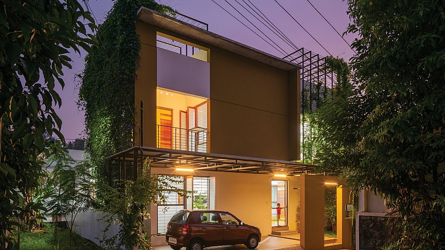 LIJO.RENY.architects brings nature inside 'House that Rains Light' in Kerala