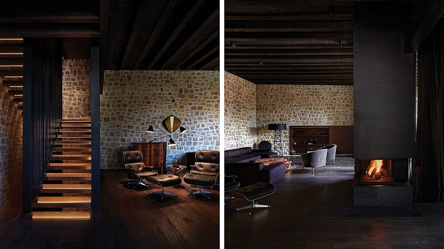 In Spain, an Iberian Modern House pairs a rustic palette with designer furniture