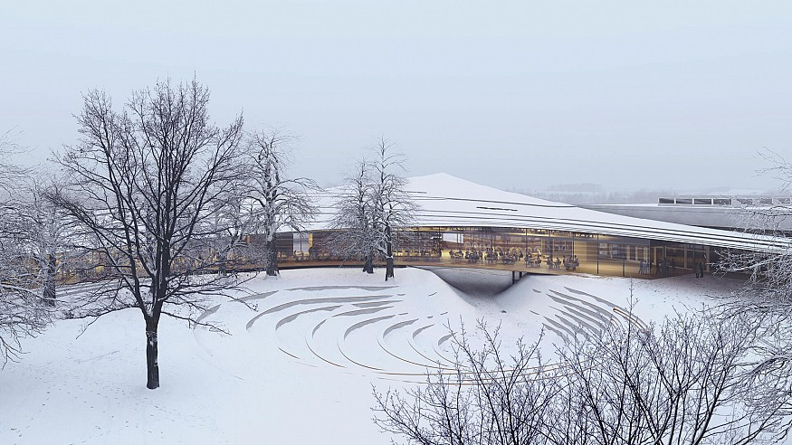 Playwright Henrik Ibsen's legacy gets a new home through Kengo Kuma's design