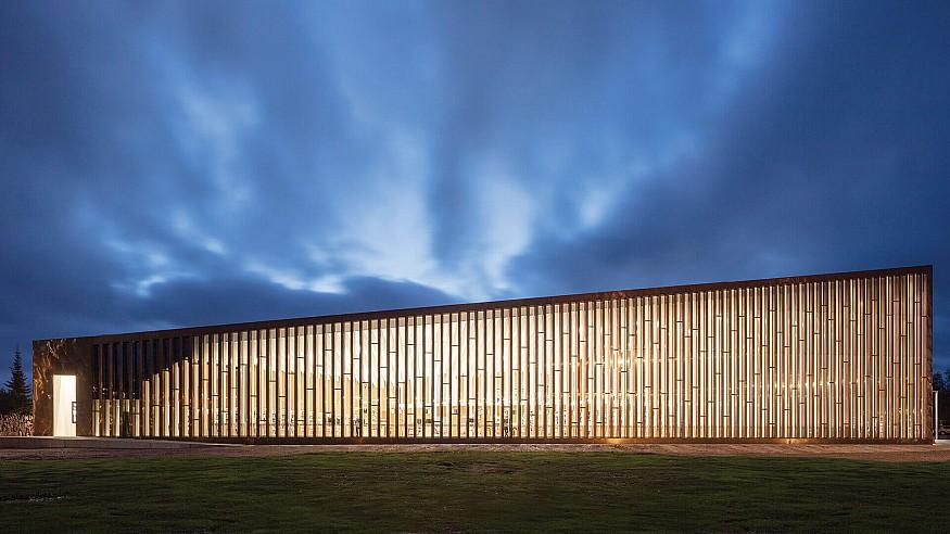 JKMM Architects designs Fyyri, a copper clad library for Kirkkonummi, Finland