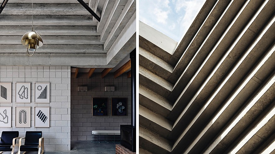 Pyramids of Flinders: Architects EAT's Bellows House is an 'ode to geometry'