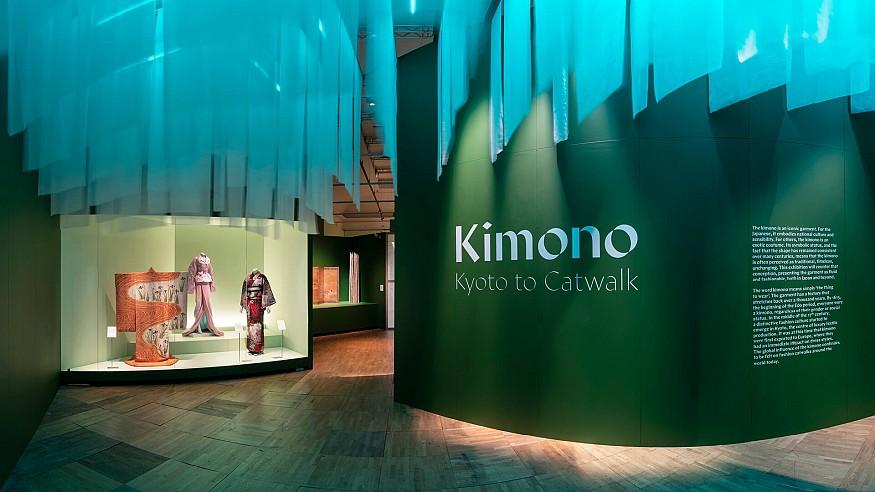 'Kimono: Kyoto to Catwalk' bridges the sartorial aesthetics of East and West