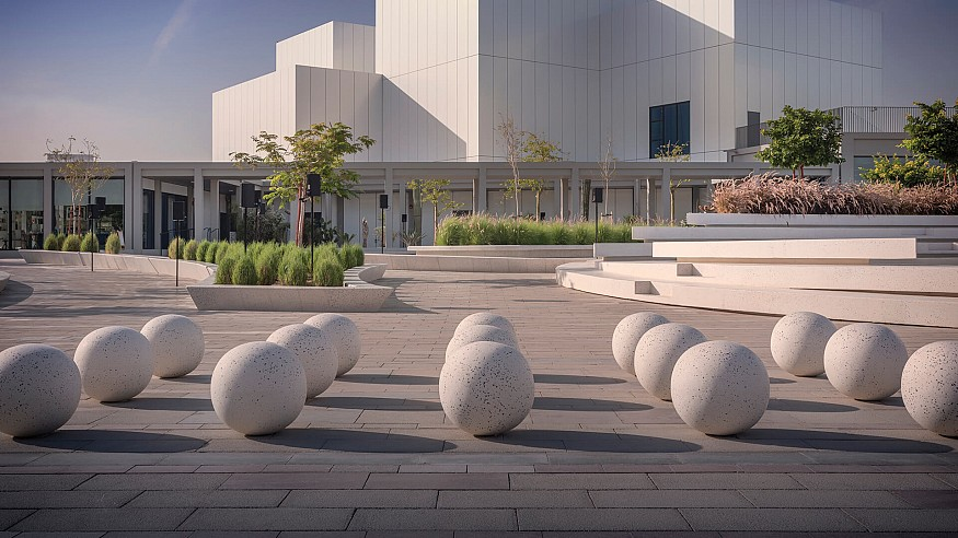 Engaging with art in UAE's open-air sculpture park, Jaddaf Waterfront Park