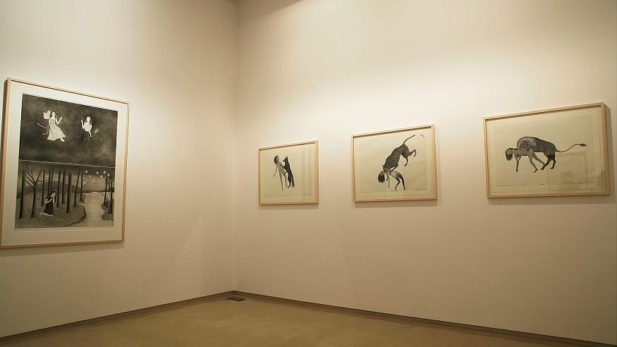 Artist Kiki Smith in conversation with Atul Dodiya and Gieve Patel