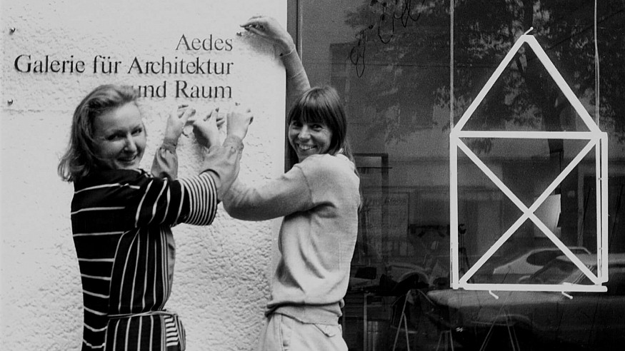 Aedes at 40: Kristin Feireiss shares the story of architecture's pioneering institution