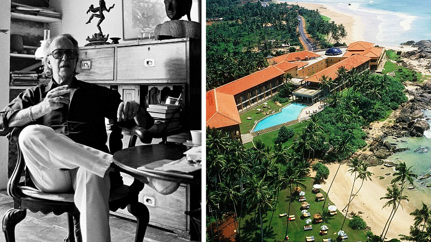 Celebrating Geoffrey Bawa's delightful buildings and gardens on his 101st birthday