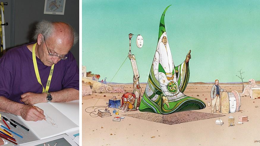 Remembering the art of comic books giant, Jean 'Mœbius' Giraud