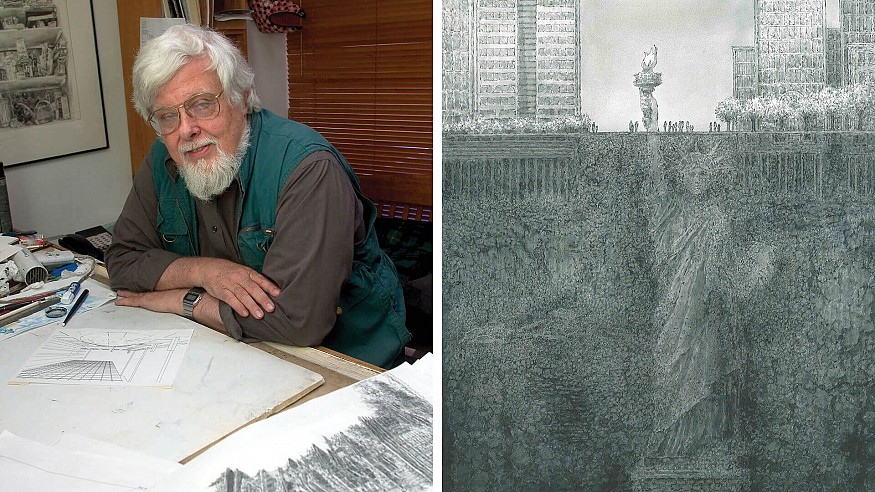 Berlin's Museum for Architectural Drawing celebrates 50-year career of James Wines