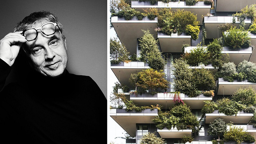 Stefano Boeri wants to bring more trees to the city and more humans to the forest