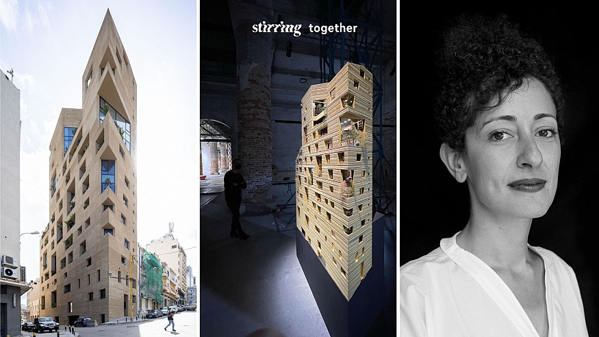 STIRring Together: Lina Ghotmeh on architecture as a tool of resilience