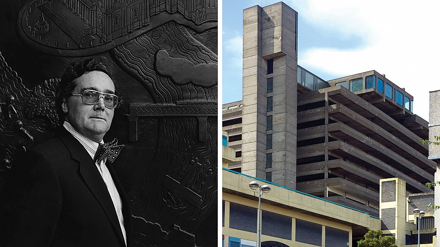 Owen Luder, the 'commercially astute Brutalist' architect, passes away at 93